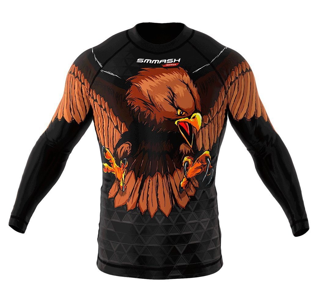 Image of SMMASH Long Sleeve Rashguard GERMANY 2.0