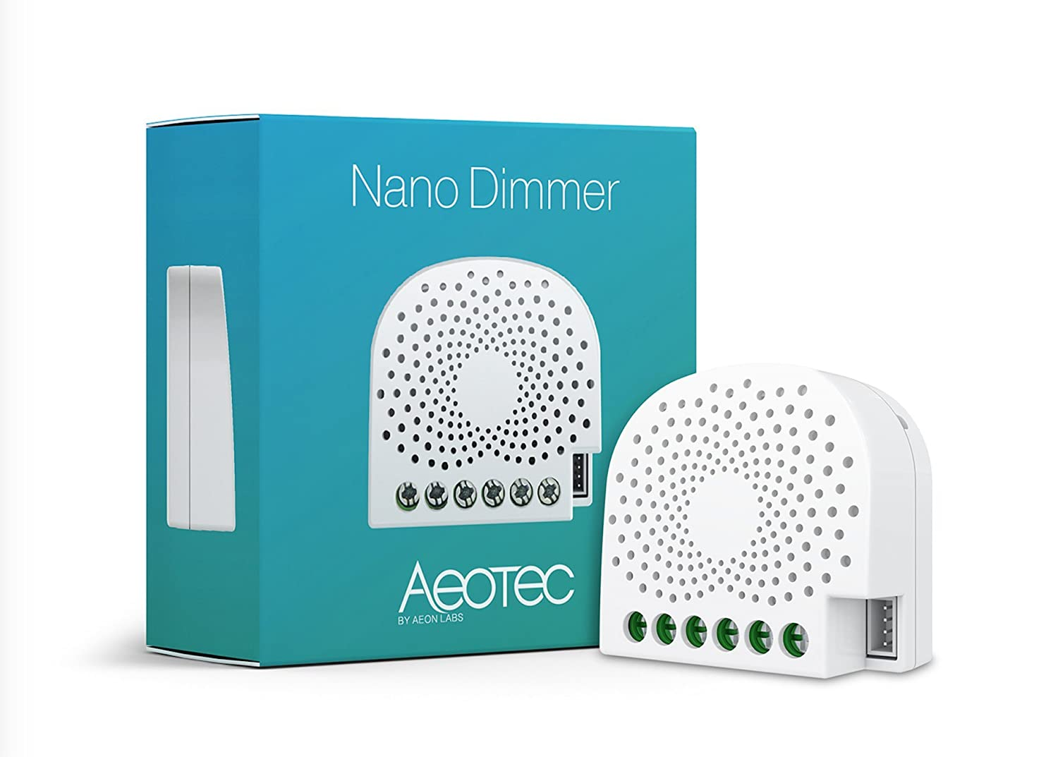Aeotec Nano Dimmer, Z-Wave Plus in -Wall Dimmer Switch for LED ...