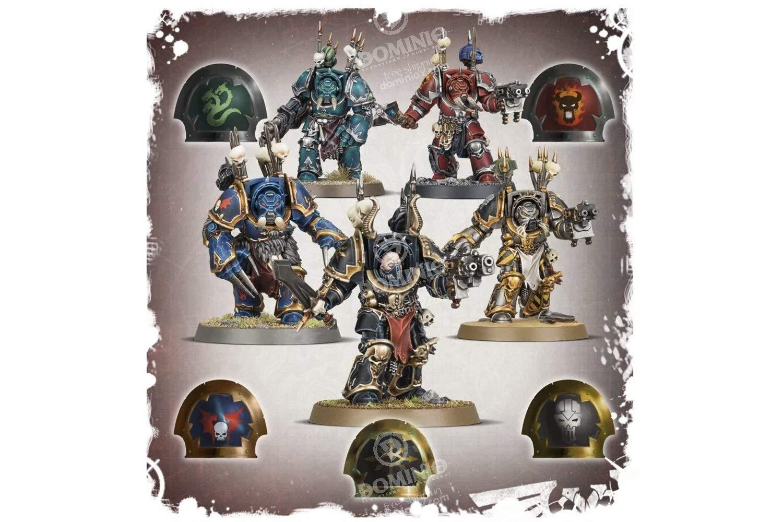 Warhammer 40,000 Chaos Space Marines Terminators GWS 40k 43-19 by Games Workshop (Image #3)