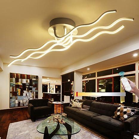 weiting 96 W LED Plafón de Techo, diseño de modernos lámpara ...