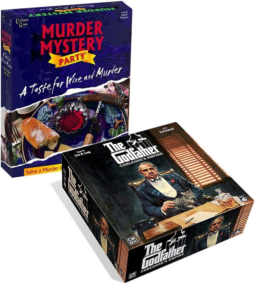 Murder Mystery and The God - Juego de Mesa: Amazon.es: Juguetes y juegos