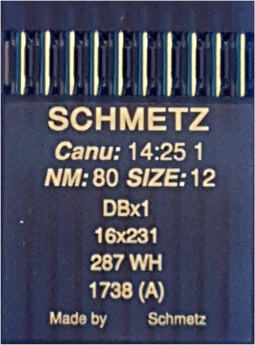Schmetz-alrededor de pistón aguja 1738//a nm 100 #