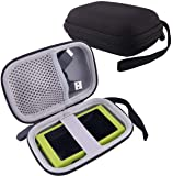 WERJIA Hard Carrying Case for Sony NW-A45/A55 Walkman Case (Black)