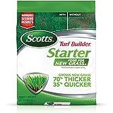 Scotts 21712 Turf Builder Starter Food GrassFL-5,000 sq. ft, Fertilizer for New Lawns and Reseeding, Improves Seeding…