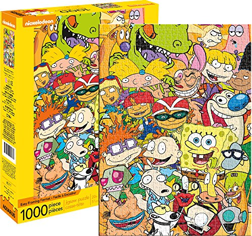 Aquarius Nickelodeon Cast 1000 Piece Jigsaw Puzzle