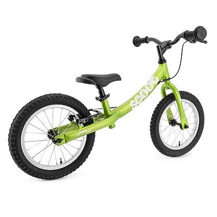"2b9a0460723 Ridgeback UK 2018 US Edition Scoot XL 14"" Balance Bike in Green ..."
