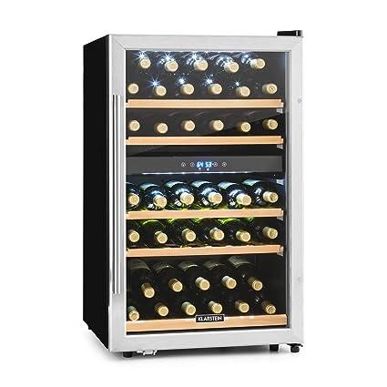 Klarstein Vinamour - Nevera para vinos, Nevera para bebidas ...