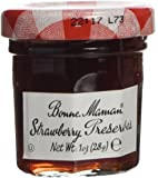Bonne Maman Strawberry Preserve Mini Jars - 1 Oz X 60 Pcs Kosher