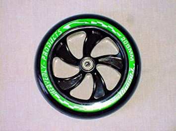Hepros PU 200 mm 2 Ruedas de Repuesto Alta amortiguación de Rebote para City Roller B-Ware Rodamientos ABEC 7: Amazon.es: Deportes y aire libre