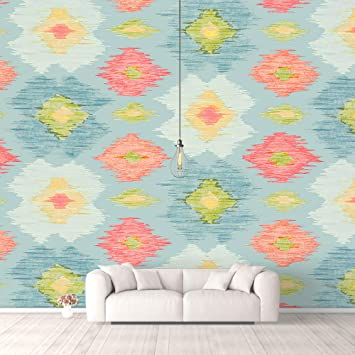 Buy Nwt Idea4wall Wall Murals For Bedroom Traditional Flower Pattern Removable Wallpaper Peel And Stick Wall Stickers 66x96 Inches Online At Low Prices In India Amazon In