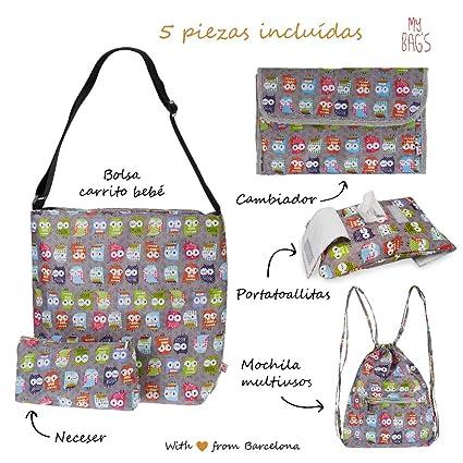 My Bags Set Bolso para Silla de Paseo + Cambiador + Neceser ...