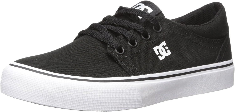 DC Men's Trase TX Skate Shoe, Black