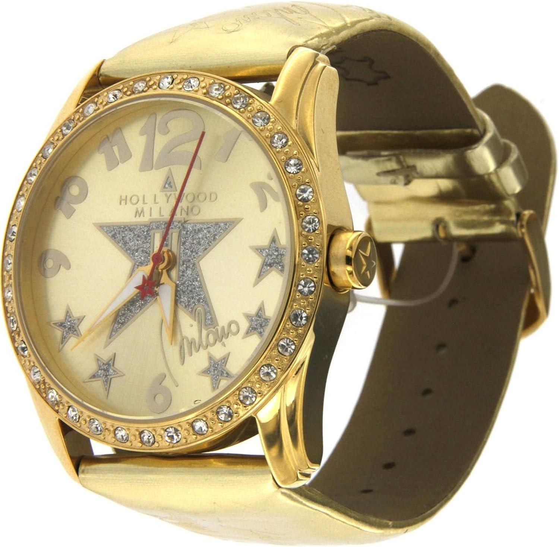 Hollywood Milano Reloj para Mujer con Caja de Acero, Correa de ...