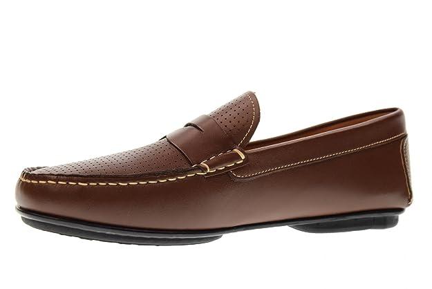 VALLEVERDE Zapatos de Hombre Mocasines 11831 Brown Talla 44 Brown: Amazon.es: Zapatos y complementos