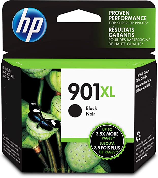 HP 901XL | Ink Cartridge | Black | CC654AN