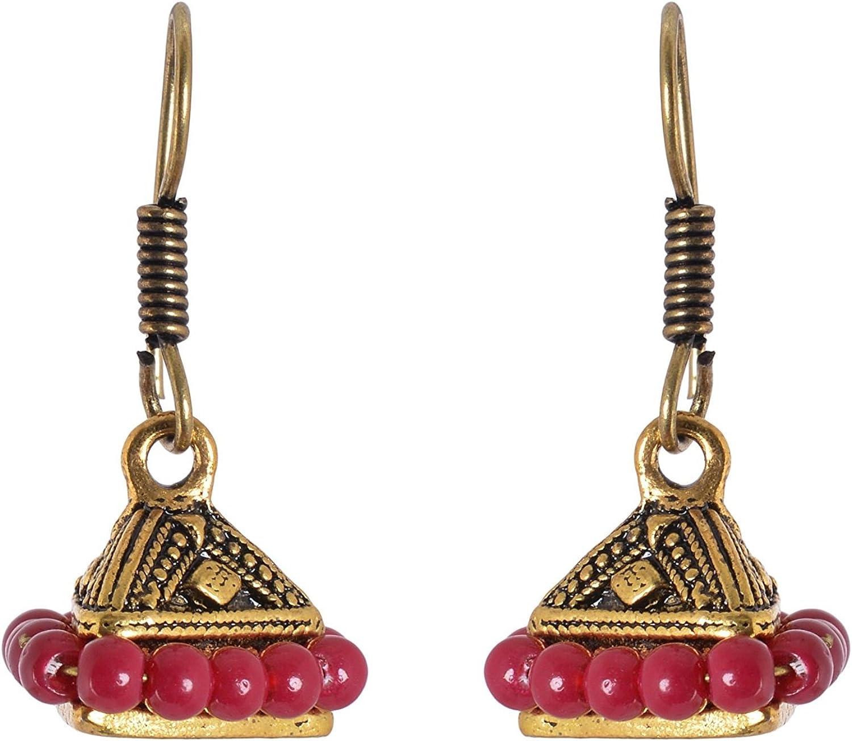 Subharpit Drop Desinge Beauty Metal Jhumki Earring for Woman and Girls