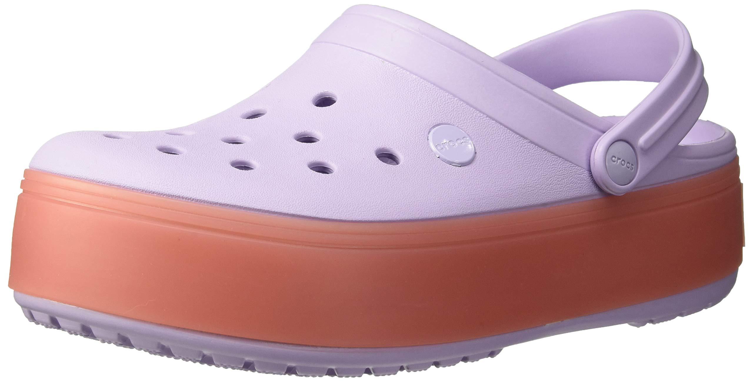 f3561a9ecf433 Galleon - Crocs Crocband Platform Clog Shoe