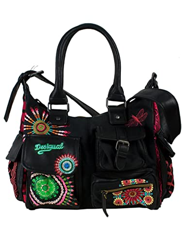 25be67c4c2d7f Desigual Femme Sac a Main London Mediano Eclipse Nouvelle Collection ...