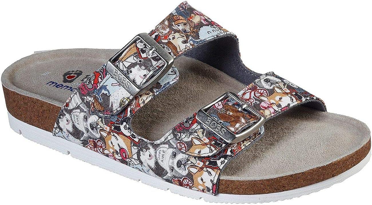 Pup Trail Slide Sandal, Gray/Multi, 11