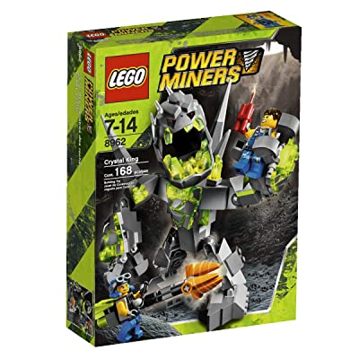 LEGO Power Miners Crystal King (8962): Toys & Games