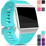 For Fitbit Ionic Bands Waterproof, Hotodeal Replacement Sport Strap Accessory Wristbands for Ionic Fitbit Smartwatch, 13 Classic Colors, Small Large