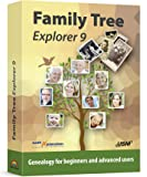 Family Tree Explorer 9 - Genealogy software and family tree maker for Windows 10, 8.1, 7 - compatible with the international GEDCOM format