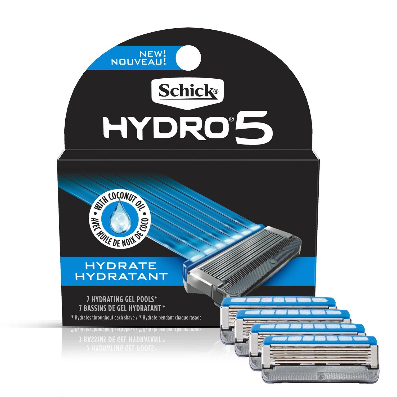 Amazon.com: Schick Hydro Sense Hydrate Razor Blade Refill with ...