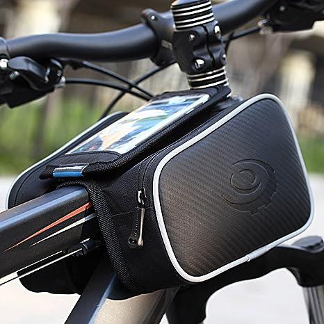 Bolsa Bicicleta Cuadro - ieGeek Roswheel Soporte Movil Bicicleta ...
