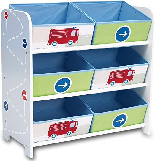 Estantería de almacenaje, caja para juguetes, estantería para ...