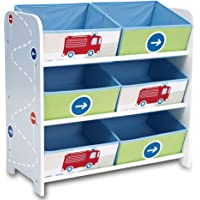 Estantería de almacenaje, caja para juguetes, estantería