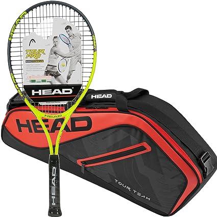 Head Tour Pro Pre-Strung Tennis Racquet (Grip Size 4 1/2)