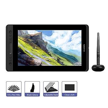 HUION KAMVAS Pro 12 11,6 Tableta Gráfica con Monitor sin-batería Lápiz Interactivo