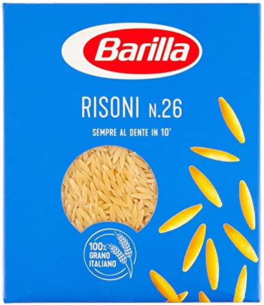 10x Pasta Barilla Risoni Nr 26 Italienisch Nudeln 500 G Pack Amazon De Lebensmittel Getranke