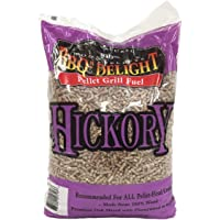 Hickory Flavor BBQR's Delight Smoking BBQ Pellets 20 Pounds