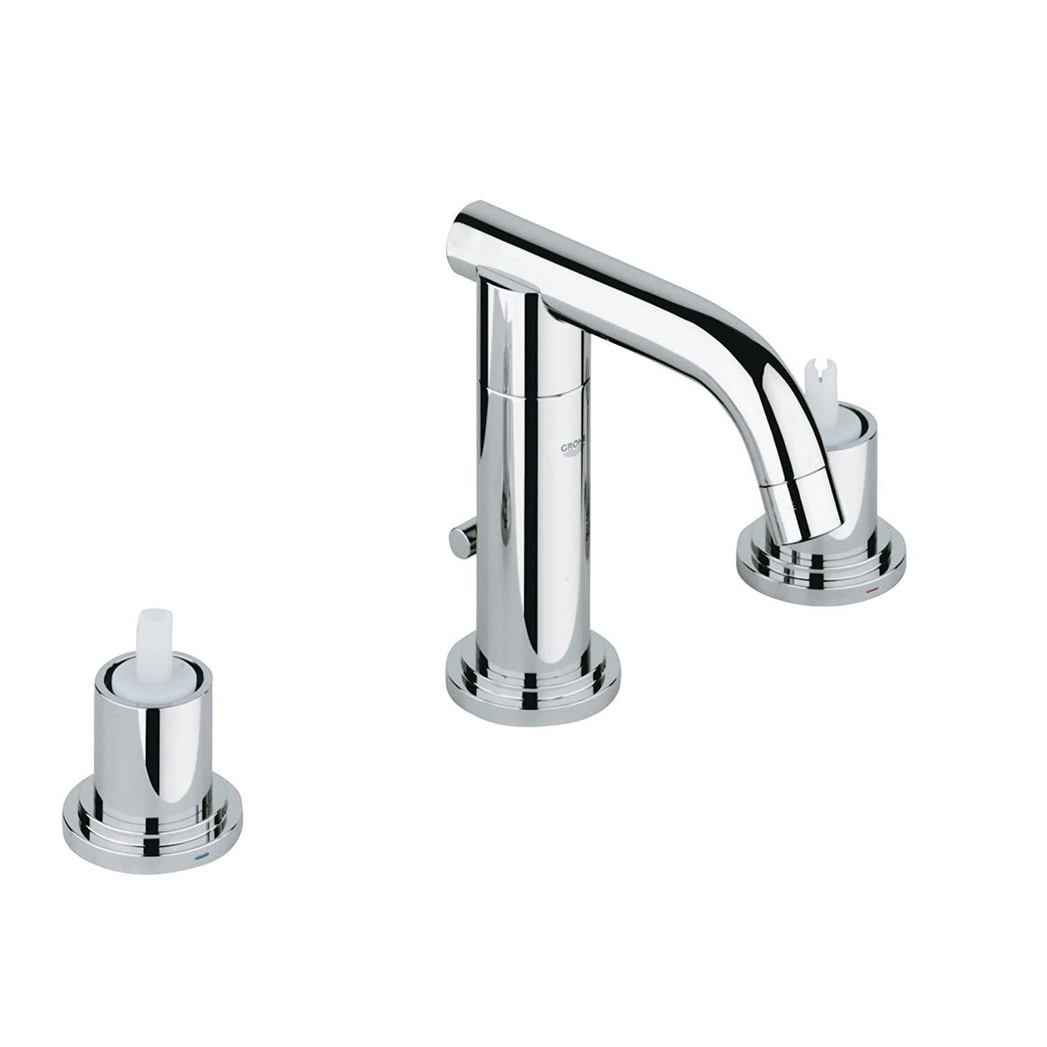 Grohe 20072000 Atrio 2-handle Low Spout Kitchen Faucet – 1.5 GPM