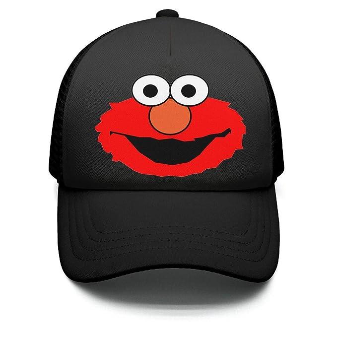 94cef2bc Amazon.com: Kids Boys Casual Black Elmo-Head-face-Cartoon-Dad ...