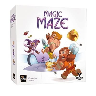 Dude Games Magic Maze Board Game: Toys & Games