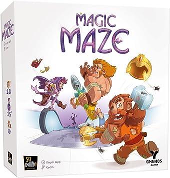 Ghenos Games GHE069 Magic Maze – Juego de Mesa (Idioma español no ...
