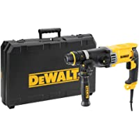Dᴇ WALT D25144K-QS Tassellatore SDS-Plus, Doppio Mandrino Attacco Rapido, 3 Modalità di Lavoro, 900 W