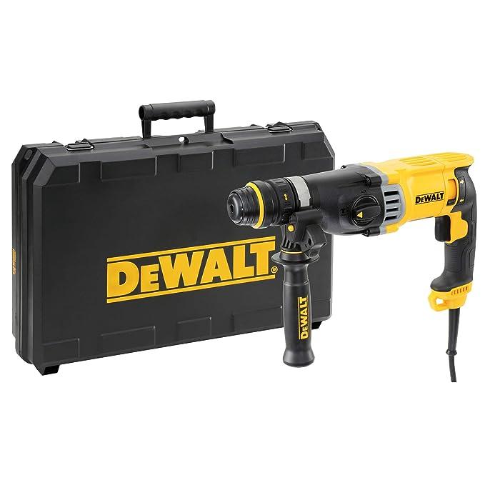 DEWALT D25144K-QS - Martillo ligero combinado 900W, 3 julios, 0-5.350 ipm: Amazon.es: Bricolaje y herramientas