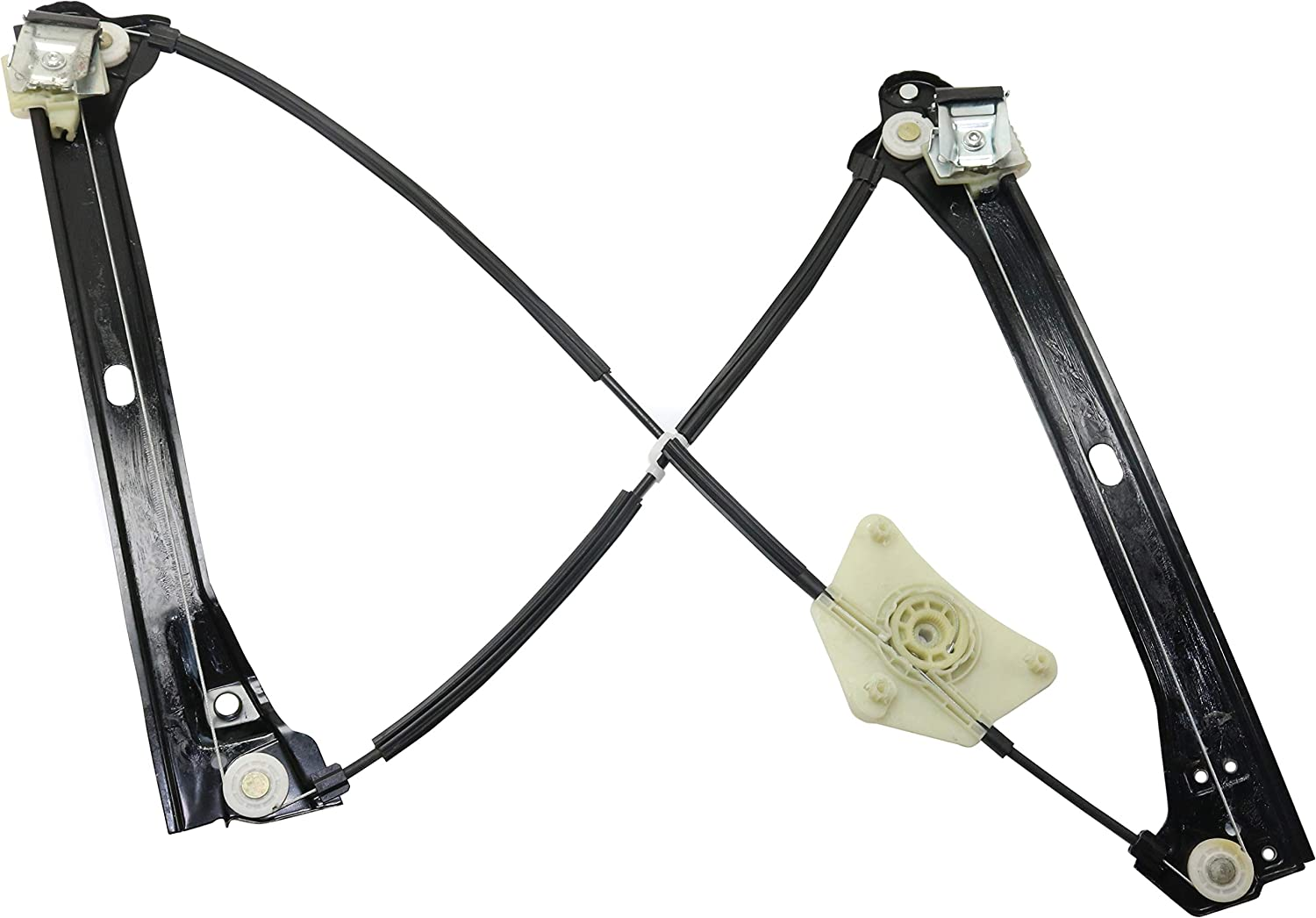 Rear Window Regulator Compatible with Volkswagen Passat 2012-2018 Driver Side Power