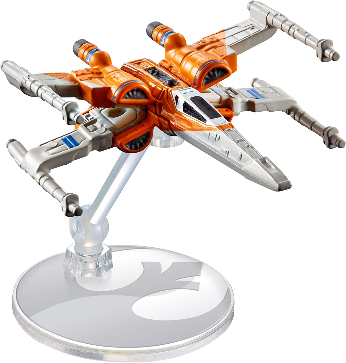Amazon Com Hot Wheels Star Wars X Wing Fighter Starship Toys Games
