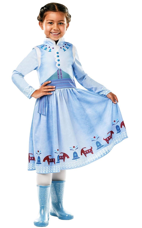 Frozen - Disfraz de princesa Anna para niña, infantil 7-8 años ...