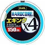 デュエル(DUEL) PEライン ハードコア X4 エギング 150m