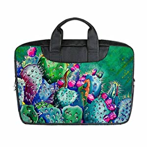 DUST -PROO Slim& lightweight&Easy to carry Cactus Art Custom Waterproof Nylon Bag for Macbook Air 11 Inches(Twin sides)