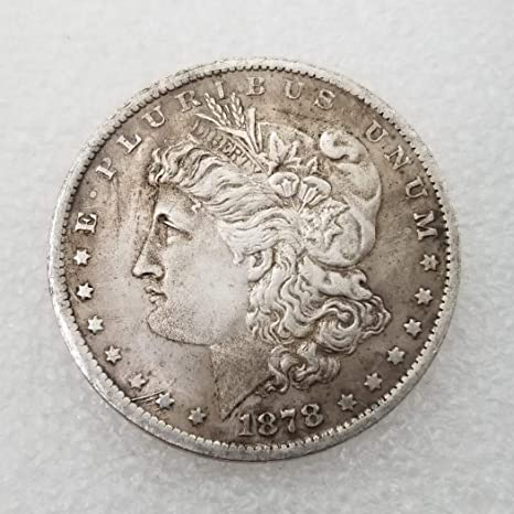 1878 USA Morgan Dollar Silver Coins COPY No Reserve!!