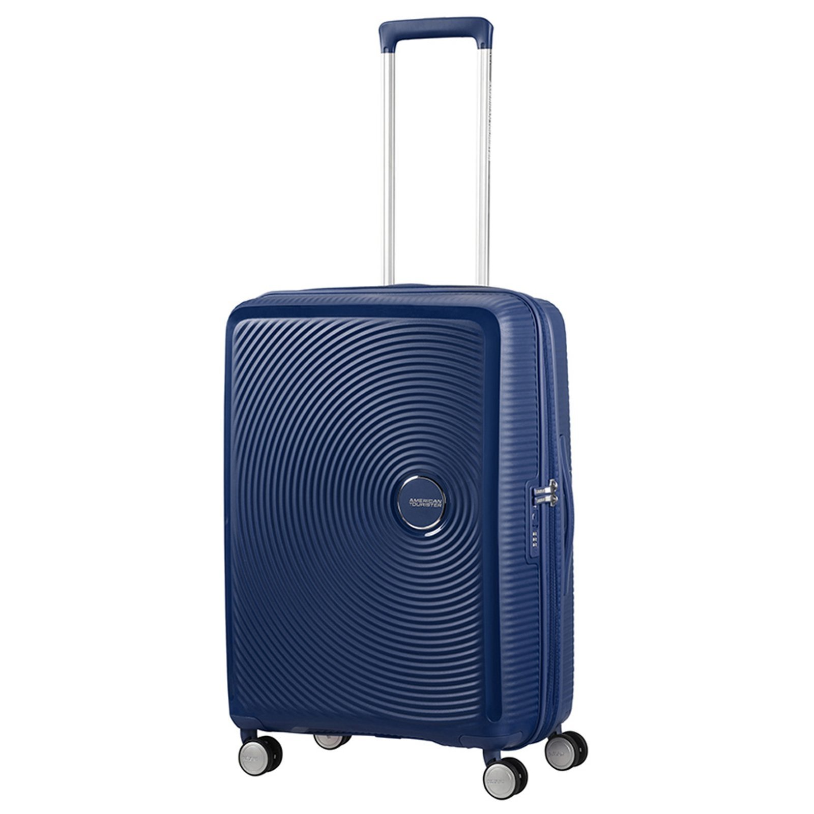 American Tourister - Soundbox Spinner Expandible, 55cm, 35,5/41 L - 2,6 KG, Azul (Midnight Navy)