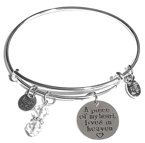 75917d0d3cfa2 Hidden Hollow Beads Message Charm (84 Options) Expandable Wire Bangle  Bracelet, in the popular style, COMES IN A GIFT BOX!