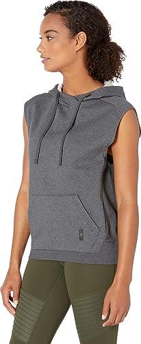 e84573150e489 Amazon.com: Reebok Women's Combat Legacy Sleeveless Hoodie: Clothing