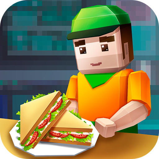 Sandwich Stack Cooking Dash: Fast Food Maker | Delicious Restaurant Mania Pixel Cooking Sandwich Chef Café World (Hot Dog Hero)